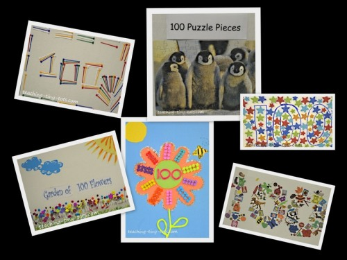 100th day collage