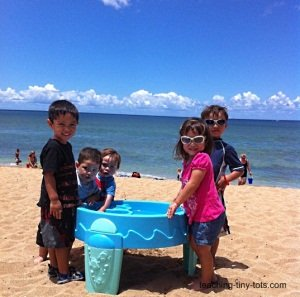 water table at the beach