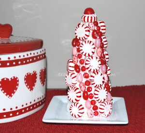 christmas peppermint holiday decor