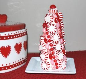 christmas peppermint holiday decor
