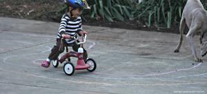 wavy chalk racetrack