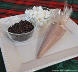 how to make cocoa cone