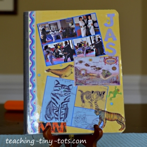 decorate your composition notebook
