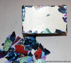 covering edges in decoupage