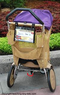 disney world stroller back