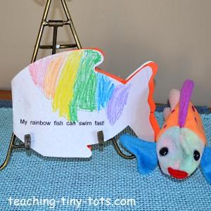 Rainbow fish kindergarten activities