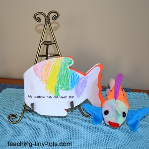 fish shape book