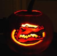 gator pumpkin