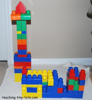 building mega bloks tall and wide