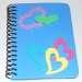 decorate a foam notebook