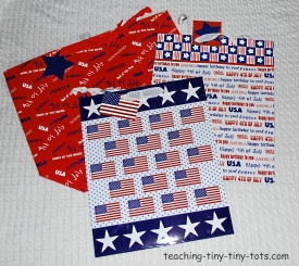 fourth of july gift bags