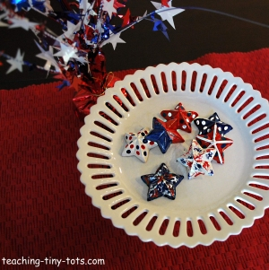 patriotic star pins