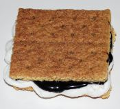 easy chocolate syrup smores