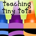 teaching tiny tots square button