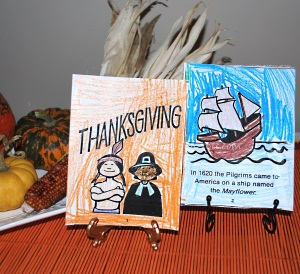 printable thanksgiving book