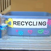 make your own recycle bin