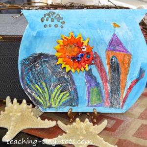 fishbowl multi media art