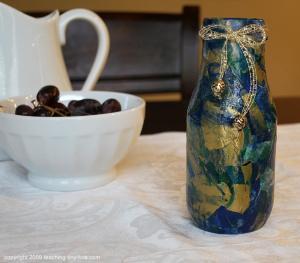 marble-tissue vase