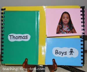 mix and match name book