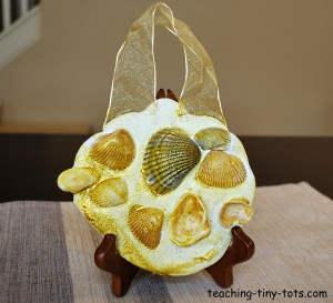 seashell hanging