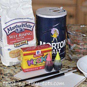ingredients for puffy paint