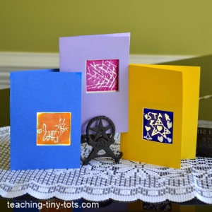 handmade cards using stamps