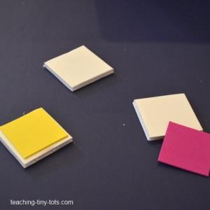 preparing to make stamps
