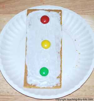 edible stoplight
