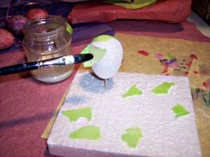 tissue egg step 2