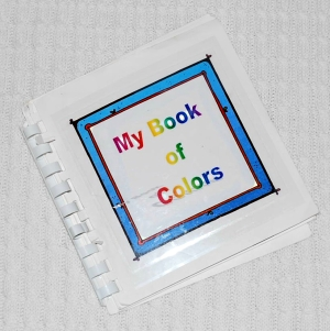 Toddler Activities: Making a Book to Learn Colors