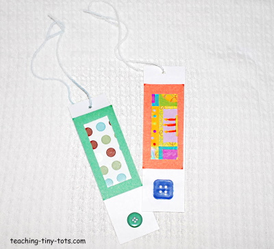 Make a bookmark with your child.