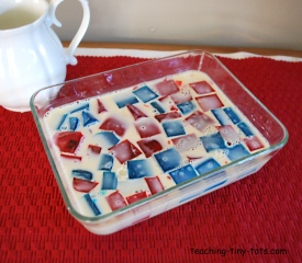 broken glass jello step 4
