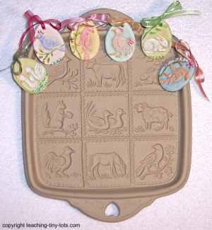 Brown Bag molds for Salt dough ornaments