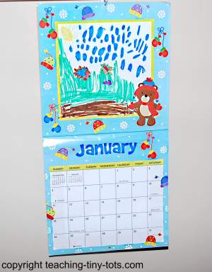 Making a Calendar with Your Child