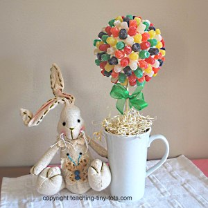 Easter Candy Topiary