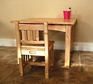 Setting up a work area for your child