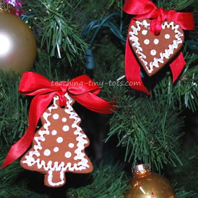 Christmas, cinnamon ornament recipe.