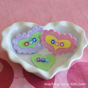 conversation heart pin