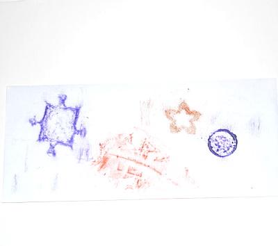 Envelope Rubbings