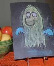 chalk ghost