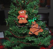 cinnamon bear ornament