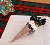 cocoa filled cones gift idea