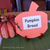 pumpkin bread recipe book