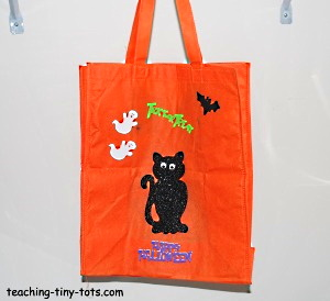 Make your own Halloween Treat Bag
