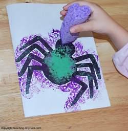 making a halloween card