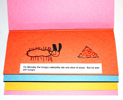 Make your own Hungry Caterpillar Book
