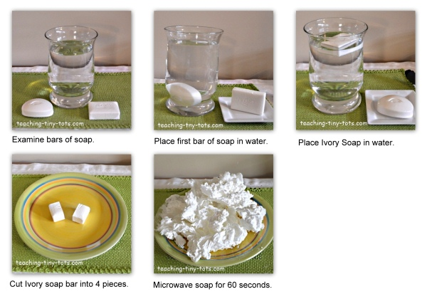 ivory soap experiment step by step