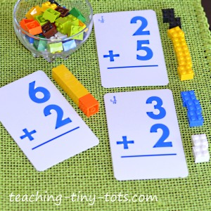 Reinforcing addition using Lego