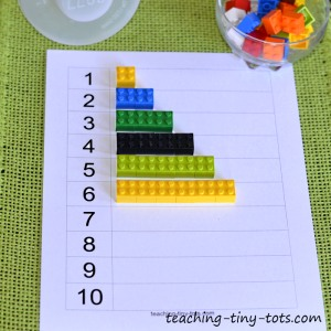 Counting using Lego