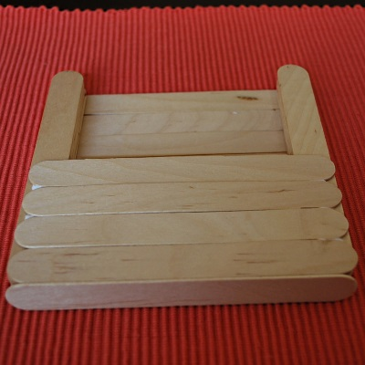 How to make a letter holder with Jumbo Sticks